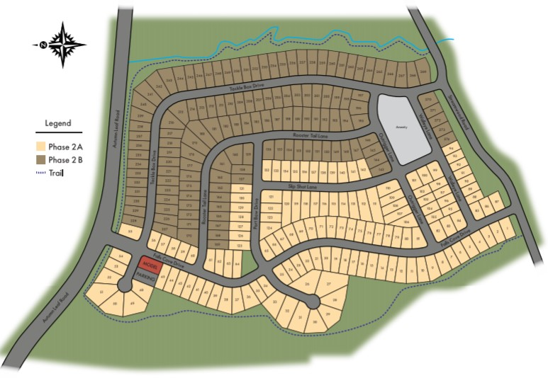 Falls-Cove-at-Lake-Norman-Homes-Troutman-Site-Map